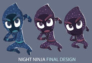 Night Ninja concept art