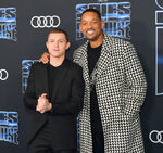 Will Smith Tom Holland Spies in Disguise premiere