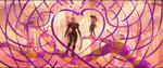 Wreck-It Ralph - Felix and Calhoun heart
