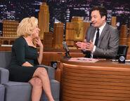 Bette Midler visits Jimmy Fallon