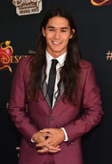 Booboo Stewart Descendents premiere