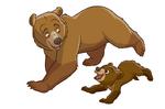 Brother Bear - Kenai & Koda 1