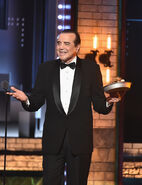 Chazz Palminteri speaks at Tony Awards