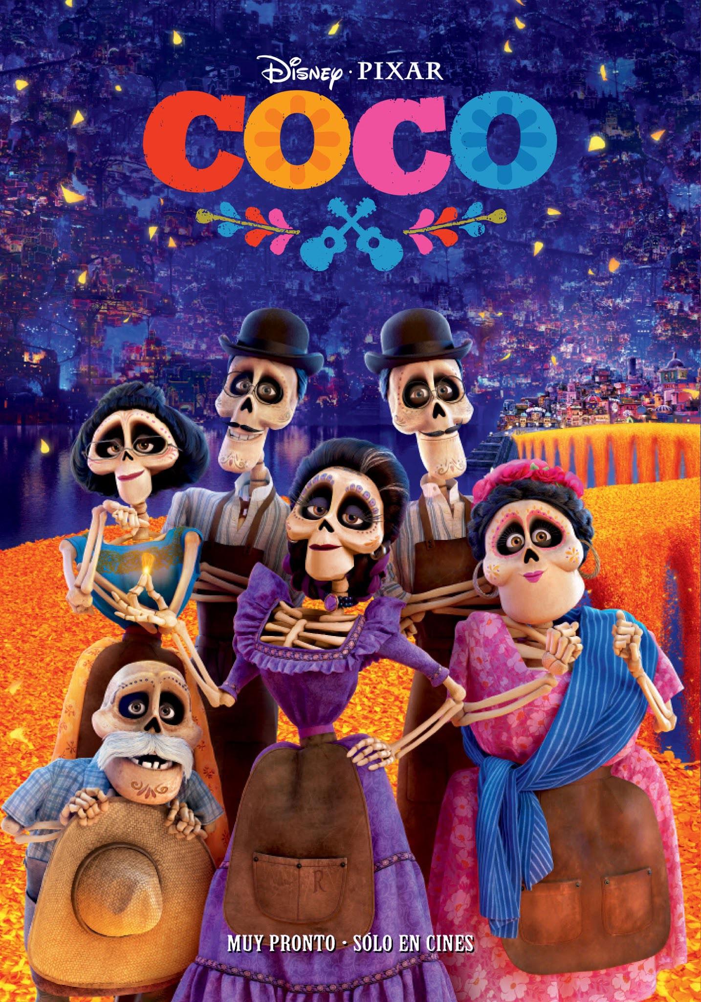 Imagen - Coco - Poster 2.jpg   Disney Wiki   FANDOM ...