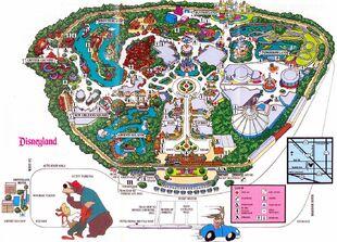 Disneyland Maps Gallery | Disney Wiki | FANDOM powered by ...