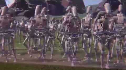 Droid Army Unfolds On Naboo 1080p