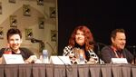 Jason Marsden, Vanessa Marshall, and Gregg Berger at Cartoon Voices II Panel