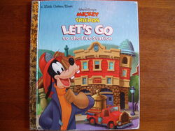 Lets go to the fire station little golden book