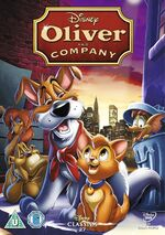 Oliver & Company UK DVD 2014