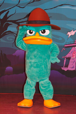 Perry the platypus disney wiki fandom powered by wikia perry in park form voltagebd