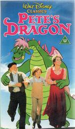 Pete's Dragon (1991 UK VHS)