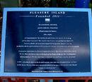 Pleasure Island Histerical Society plaques
