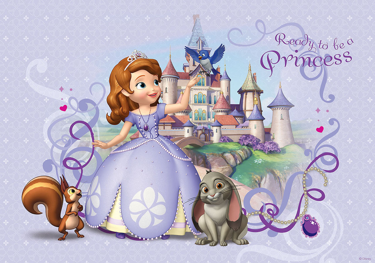 image - sofia the first ready to be a princess wallpaper