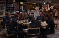 Vengadores restaurante shawarma