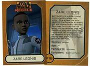 Zare Leonis Card