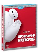 Big Hero 6 Blu-Ray México