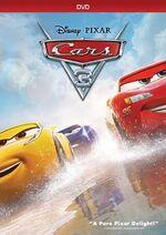 Cars3 DVD