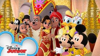 Celebrate Love Music Video 💕 Mickey Mouse Mixed-Up Adventures Disney Junior