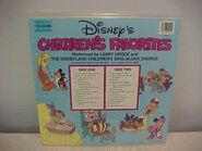 Disneys childrens favorites volume 3 lp back cover