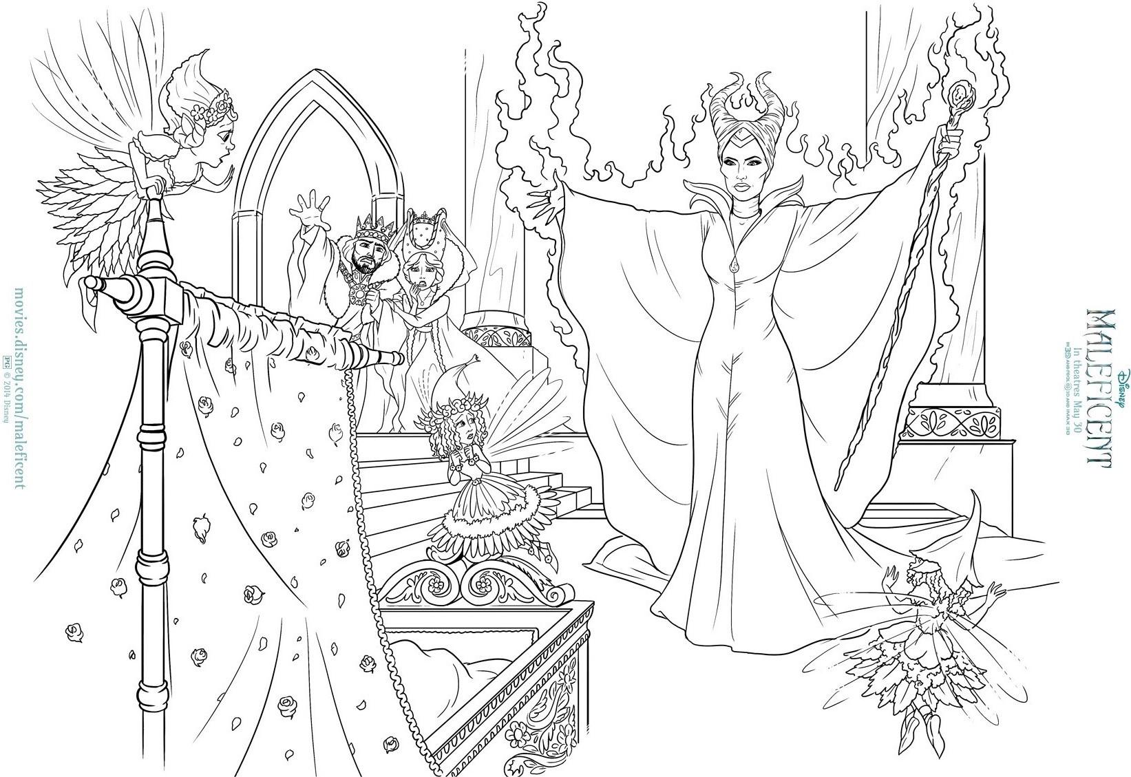 Image - Maleficent Colour ins 2.jpg | Disney Wiki | FANDOM powered ...