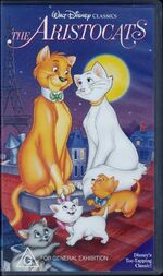 The Aristocats 1995 AUS VHS