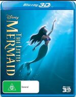 The Little Mermaid 2013 AUS Blu Ray 3D