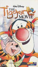 The Tigger Movie 2000 AUS VHS