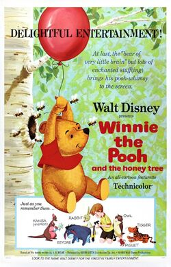 Winnie the Pooh and the Honey Tree movie poster