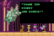 Disney's Magical Quest 2 Starring Mickey and Minnie Ending 9