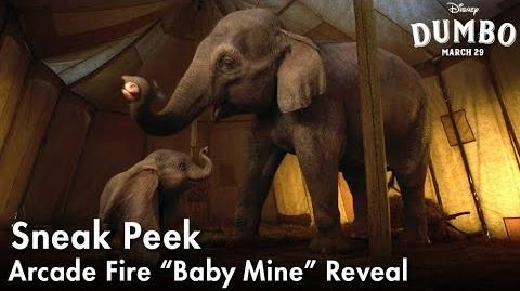 "Dumbo Arcade Fire ""Baby Mine"" Reveal"