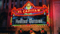 El Capitan Theater Hollywood CA Haunted Mansion
