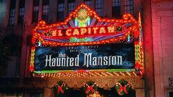 El Capitan Theater Hollywood CA Haunted Mansion