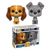 Lady and the Tramp POP 2 Pack