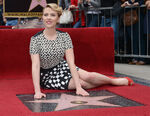 Scarlett Johansson Hollywood Walk of Fame