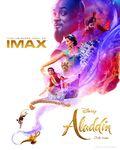 Aladdin Cartaz de IMAX