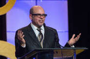 David Cross speaks at ACE Eddie Awards