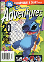 Disney Adventures Magazine cover March 2005 Stitch