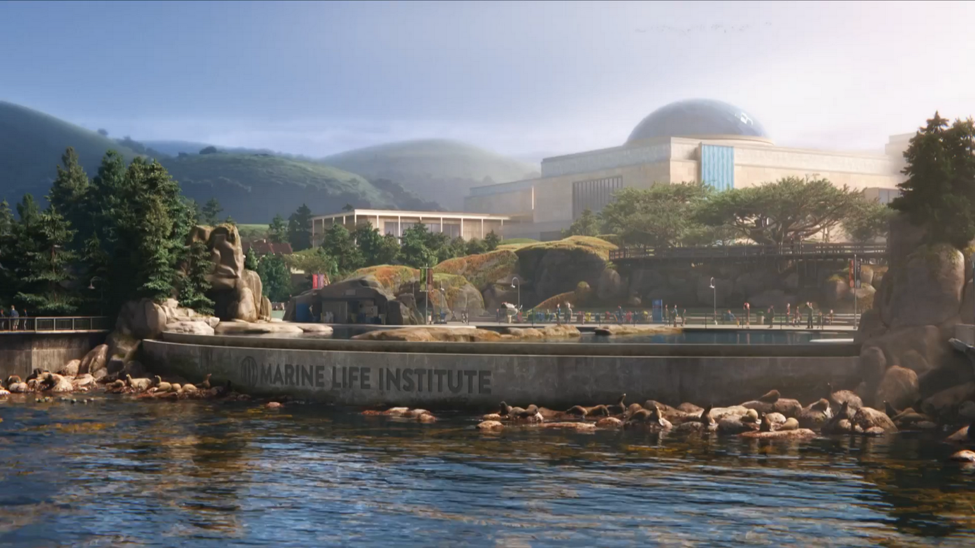 Marine Life Institute in 'Finding Dory'