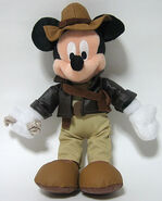 Indiana Jones Mickey Plush