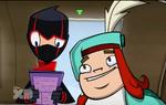 Let Them Eat Cake Fries - Ninja and Howard 11