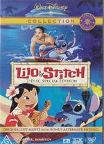 Lilo & Stitch 2004 AUS DVD