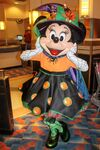 Minnie at Minnie's Halloween Dine2