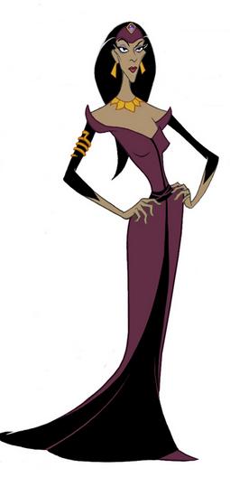 Disney Aladdin Princess Jasmine Slave Red Suit Villains Dress Doll