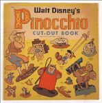 Pinocchio cutout book