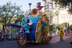 Pixar Play at Parade Disney California Adventure