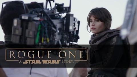 "Rogue One A Star Wars Story Featurette ""Introducing Jyn Erso"""
