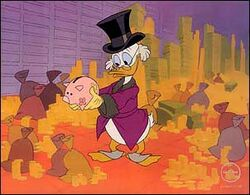 Scrooge in Scrooge McDuck and Money