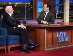 Steve Martin visits Stephen Colbert