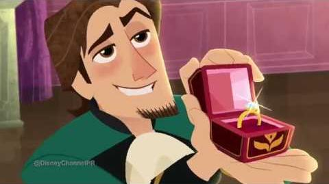 Tangled The Series - Zachary Levi - INTERVIEW