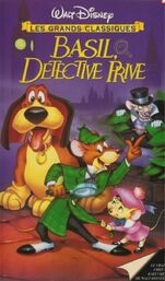 The Great Mouse Detective 1997 France VHS
